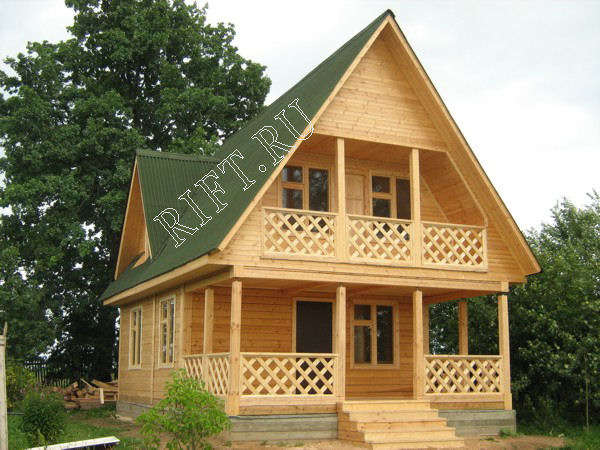 Проект дома dm25 95 кв.м (6x9 м) - цена.