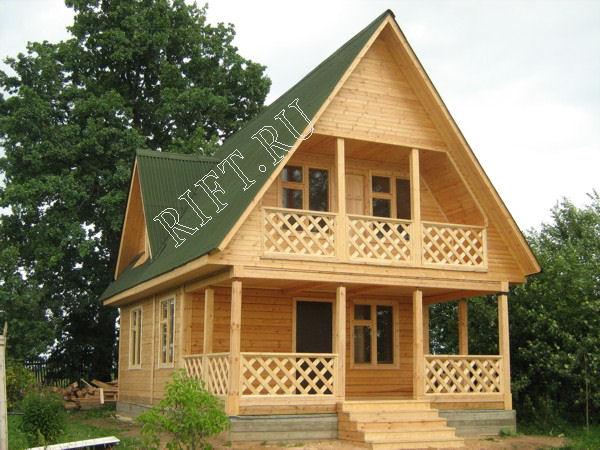 Как сделать фасад у деревянном доме