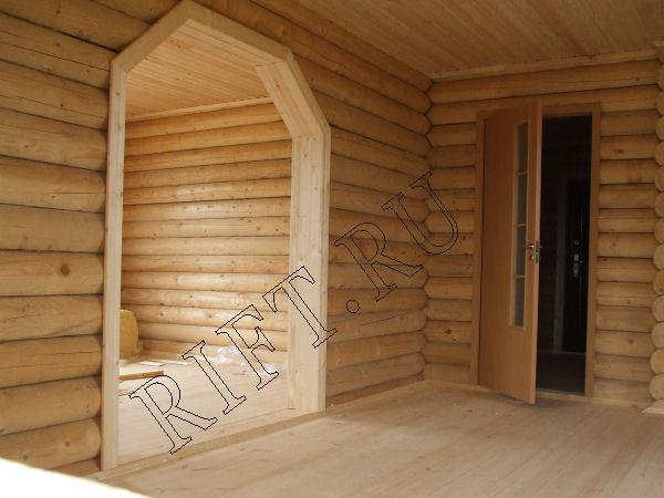 Арка в деревянном доме фото