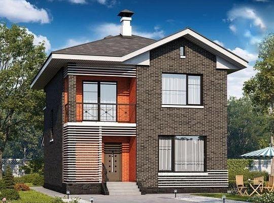 Двухэтажные деревянные дома